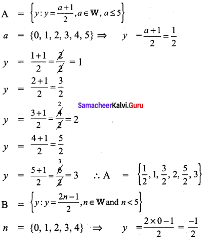 Samacheer Kalvi 9th Maths Chapter 1 Set Language Ex 1.5 3