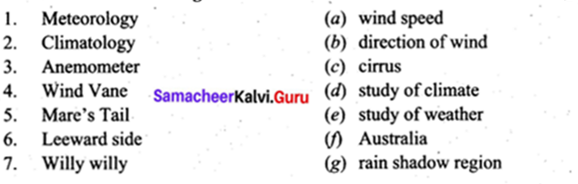 Samacheer Kalvi 9th Social Science Geography Solutions Chapter 3 Atmosphere 1