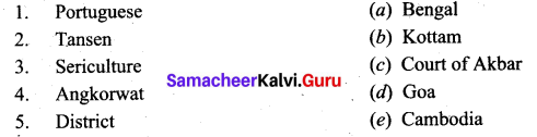 Samacheer Kalvi 9th Social Science History Solutions Chapter 7 State and Society in Medieval India 1