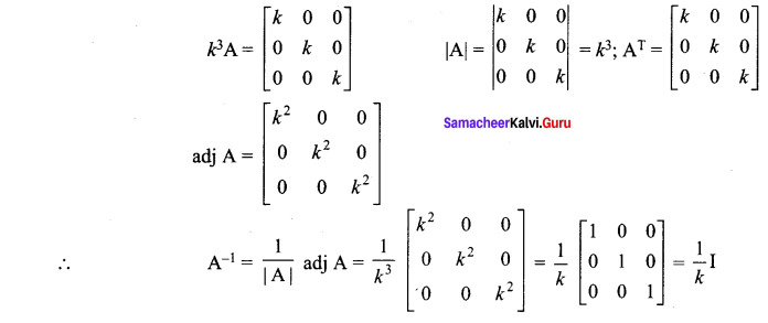 Samacheer Kalvi 12th Maths Solutions Chapter 1 Applications of Matrices and Determinants Ex 1.8 12