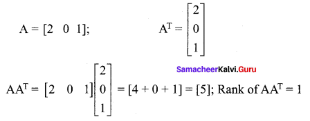 Samacheer Kalvi 12th Maths Solutions Chapter 1 Applications of Matrices and Determinants Ex 1.8 9