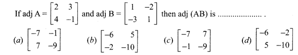 Samacheer Kalvi 12th Maths Solutions Chapter 1 Applications of Matrices and Determinants Ex 1.8 Q17