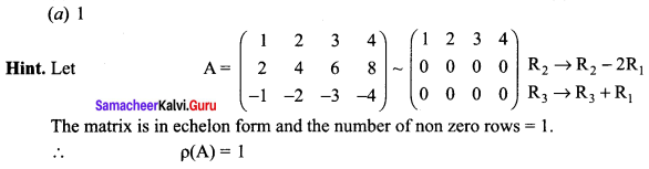 Samacheer Kalvi 12th Maths Solutions Chapter 1 Applications of Matrices and Determinants Ex 1.8 Q18.1