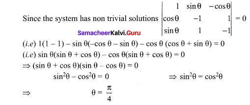 Samacheer Kalvi 12th Maths Solutions Chapter 1 Applications of Matrices and Determinants Ex 1.8 Q22