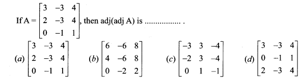 Samacheer Kalvi 12th Maths Solutions Chapter 1 Applications of Matrices and Determinants Ex 1.8 Q25