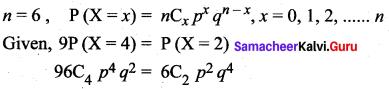 Samacheer Kalvi 12th Maths Solutions Chapter 11 Probability Distributions Ex 11.6 23