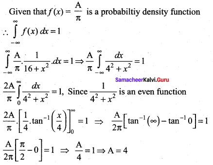 Samacheer Kalvi 12th Maths Solutions Chapter 11 Probability Distributions Ex 11.6 31