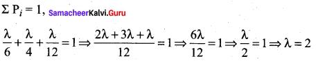 Samacheer Kalvi 12th Maths Solutions Chapter 11 Probability Distributions Ex 11.6 333