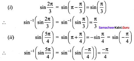 Samacheer Kalvi 12th Maths Solutions Chapter 4 Inverse Trigonometric Functions Ex 4.1 Q4