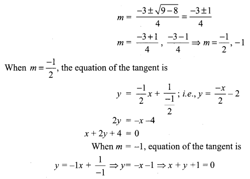 Samacheer Kalvi 12th Maths Solutions Chapter 5 Two Dimensional Analytical Geometry - II Ex 5.4 9