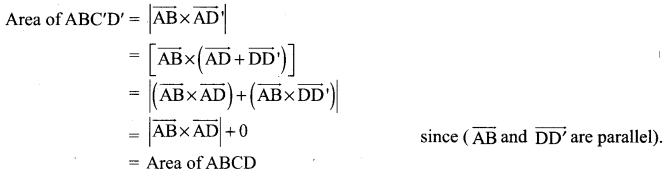 Samacheer Kalvi 12th Maths Solutions Chapter 6 Applications of Vector Algebra Ex 6.1 10