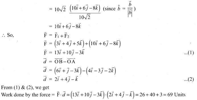 Samacheer Kalvi 12th Maths Solutions Chapter 6 Applications of Vector Algebra Ex 6.1 18