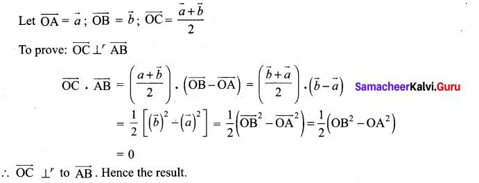 Samacheer Kalvi 12th Maths Solutions Chapter 6 Applications of Vector Algebra Ex 6.1 2