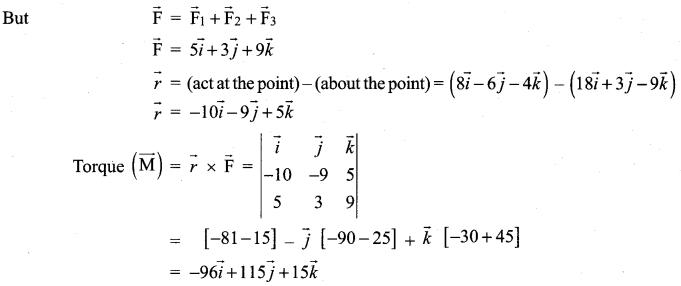 Samacheer Kalvi 12th Maths Solutions Chapter 6 Applications of Vector Algebra Ex 6.1 21