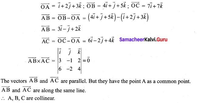Samacheer Kalvi 12th Maths Solutions Chapter 6 Applications of Vector Algebra Ex 6.1 24