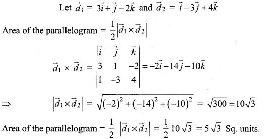 Samacheer Kalvi 12th Maths Solutions Chapter 6 Applications of Vector Algebra Ex 6.1 27