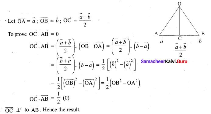 Samacheer Kalvi 12th Maths Solutions Chapter 6 Applications of Vector Algebra Ex 6.1 3