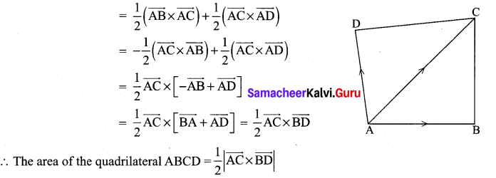 Samacheer Kalvi 12th Maths Solutions Chapter 6 Applications of Vector Algebra Ex 6.1 8