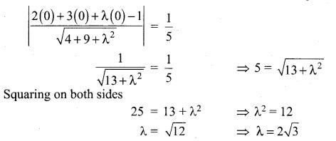 Samacheer Kalvi 12th Maths Solutions Chapter 6 Applications of Vector Algebra Ex 6.10 34