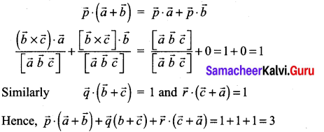 Samacheer Kalvi 12th Maths Solutions Chapter 6 Applications of Vector Algebra Ex 6.10 40