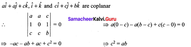 Samacheer Kalvi 12th Maths Solutions Chapter 6 Applications of Vector Algebra Ex 6.10 44