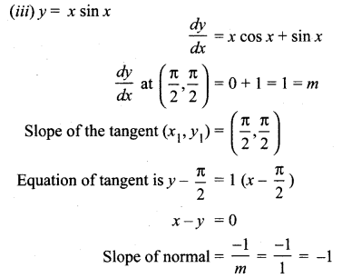 Samacheer Kalvi 12th Maths Solutions Chapter 7 Applications of Differential Calculus Ex 7.2 10