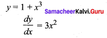 Samacheer Kalvi 12th Maths Solutions Chapter 7 Applications of Differential Calculus Ex 7.2 14