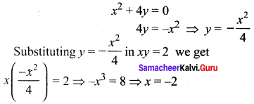 Samacheer Kalvi 12th Maths Solutions Chapter 7 Applications of Differential Calculus Ex 7.2 21