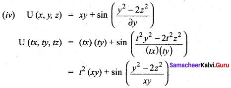 Samacheer Kalvi 12th Maths Solutions Chapter 8 Differentials and Partial Derivatives Ex 8.7 15