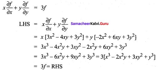 Samacheer Kalvi 12th Maths Solutions Chapter 8 Differentials and Partial Derivatives Ex 8.7 16