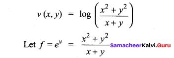 Samacheer Kalvi 12th Maths Solutions Chapter 8 Differentials and Partial Derivatives Ex 8.7 22
