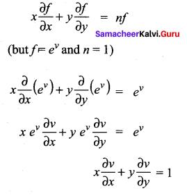 Samacheer Kalvi 12th Maths Solutions Chapter 8 Differentials and Partial Derivatives Ex 8.7 23