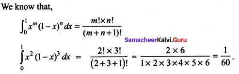 Samacheer Kalvi 12th Maths Solutions Chapter 9 Applications of Integration Ex 9.6 17