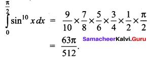 Samacheer Kalvi 12th Maths Solutions Chapter 9 Applications of Integration Ex 9.6 2