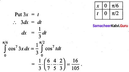 Samacheer Kalvi 12th Maths Solutions Chapter 9 Applications of Integration Ex 9.6 25