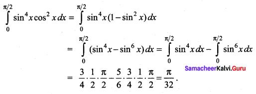 Samacheer Kalvi 12th Maths Solutions Chapter 9 Applications of Integration Ex 9.6 27