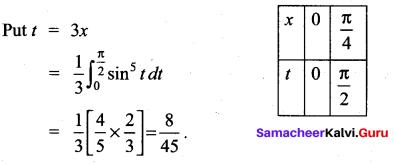 Samacheer Kalvi 12th Maths Solutions Chapter 9 Applications of Integration Ex 9.6 77