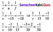 Samacheer Kalvi 9th Science Solutions Chapter 6 Light 13