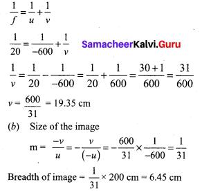 Samacheer Kalvi 9th Science Solutions Chapter 6 Light 15
