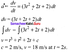 Samacheer Kalvi 11th Physics Solutions Chapter 2 Kinematics Q4
