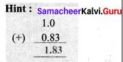 Samacheer Kalvi 7th Maths Solutions Term 3 Chapter 1 Number System 1.1 12
