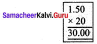 Samacheer Kalvi 7th Maths Solutions Term 3 Chapter 1 Number System 1.3 6