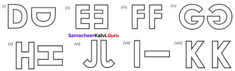 Samacheer Kalvi 7th Maths Solutions Term 3 Chapter 4 Geometry Ex 4.3 5