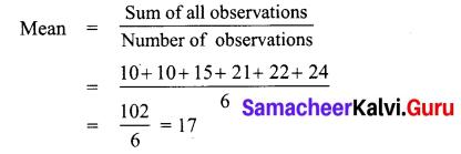 Samacheer Kalvi 7th Maths Solutions Term 3 Chapter 5 Statistics Ex 5.4 8