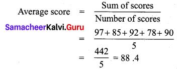 Samacheer Kalvi 7th Maths Solutions Term 3 Chapter 5 Statistics add 1