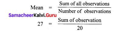 Samacheer Kalvi 7th Maths Solutions Term 3 Chapter 5 Statistics add 2