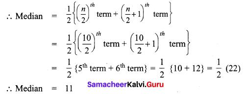 Samacheer Kalvi 7th Maths Solutions Term 3 Chapter 5 Statistics add 4