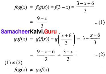 Samacheer Kalvi 10th Maths Chapter 1 Relations and Functions Ex 1.5 2