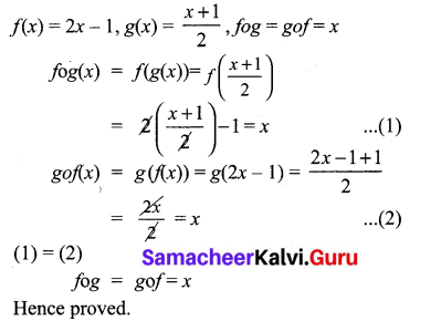 Samacheer Kalvi 10th Maths Chapter 1 Relations and Functions Ex 1.5 3