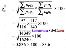 Samacheer Kalvi 12th Business Maths Solutions Chapter 9 Applied Statistics Ex 9.2 28